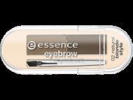 Тени для бровей Eyebrow Stylist Set Essence 02 natural blonde style: фото