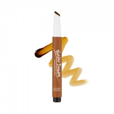 Тинт-кушон для бровей Holika Holika Wonder Drawing Cushion Tint Brow тон 01, светло-коричневый: фото