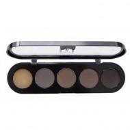 Палетка для бровей, 5 цветов Make-Up Atelier Paris TE30 10г: фото