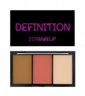 Палетка для макияжа MakeUp Revolution I Heart Definition Medium: фото