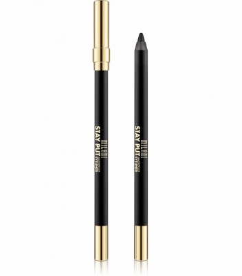 ВОДОСТОЙКИЙ КАРАНДАШ ДЛЯ ГЛАЗ Milani Cosmetics STAY PUT WATERPROOF EYELINER PENCIL 01 LINKED ON BLACK: фото