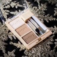 ТЕНИ ДЛЯ БРОВЕЙ С ХАЙЛАЙТЕРОМ Milani Cosmetics BROW FIX KIT 01 LIGHT: фото