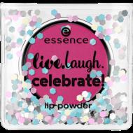 Пудра для губ Live.laugh.celebrate! Essence 02: фото
