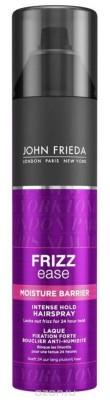 Лак для волос сверхсильной фиксации с защитой от влаги и атмосферных явлений John Frieda Frizz-Ease 250 мл: фото