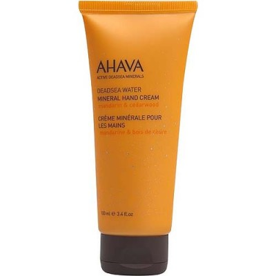 Минеральный крем для рук Ahava Deadsea Water мандарин и кедр 100 мл: фото