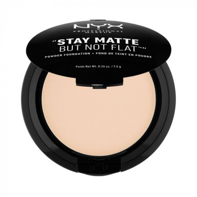 Пудра-основа NYX Professional Makeup Stay Matte But Not Flat Powder Foundation – Ivory 01: фото