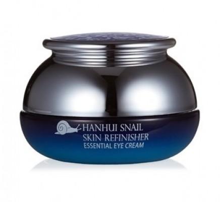 Крем антивозрастной для глаз с муцином улитки BERGAMO Hanhui snail skin refinisher essential eye cream 30 г: фото