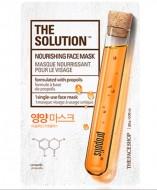 Тканевая маска питательная ТHE FACE SHOP The Solution Nourishing Face Mask: фото