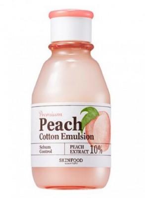 Тонер с экстрактом персика SKINFOOD Premium Peach Cotton Toner: фото