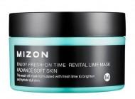 Маска увлажняющая с экстрактом лайма MIZON Enjoy Fresh On-Time Revital Lime Mask: фото