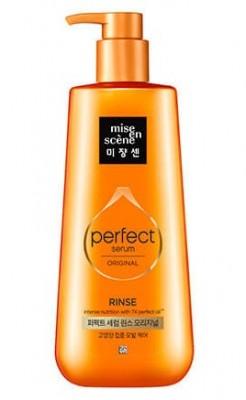 Кондиционер питательный для поврежденных волос MISE EN SCENE Perfect Serum Rinse Airy Volume: фото