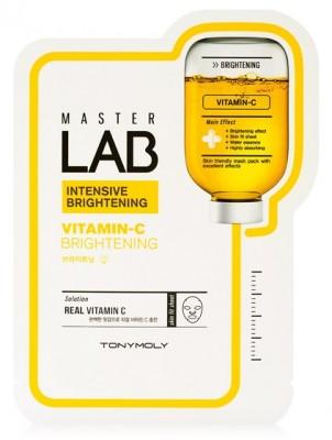 Маска для лица с витамином С TONY MOLY Master Lab vitamin C mask sheet 19г: фото
