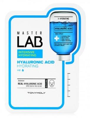 Маска для лица с гиалуроновой кислотой TONY MOLY Master Lab hyaluronic acid mask sheet 19г: фото