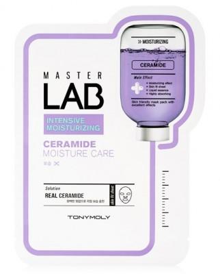 Маска для лица с керамидами TONY MOLY Master Lab ceramide mask sheet 19г: фото