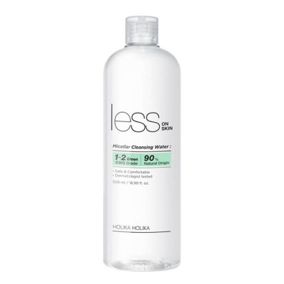 Мицелярная вода Holika Holika Less On Skin Micellar Cleansing Water 500мл: фото