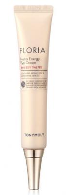 Увлажняющий крем для кожи вокруг глаз с аргановым маслом TONY MOLY Floria nutra energy eye cream 30 мл: фото