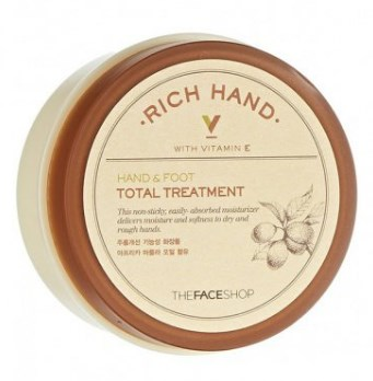 Бальзам для ног и рук THE FACE SHOP Rich hand V hand & foot total treatment 110 мл: фото