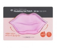 Маска для губ гидрогелевая THE FACE SHOP Cherry cherry lips modeling gel patch 10г: фото