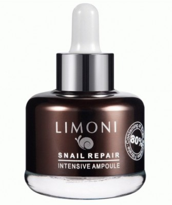 Сыворотка восстанавливающая LIMONI Snail Repair Intensive Ampoule 25 мл: фото