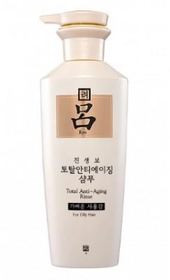 Кондиционер с женьшенем против старения RYO Total anti-aging rinse for oily hair: фото