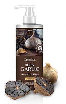 Шампунь интенсивный с чёрным чесноком DEOPROCE Shampoo black garlic intensive energy 1000мл: фото