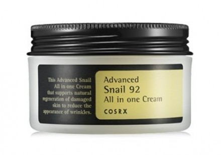 Крем для лица с муцином улитки COSRX Advanced Snail 92% All in one Cream 100мл: фото