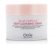 Очищающий крем для лица OTTIE Blue Capsule Deep Cleansing Cream 200мл: фото