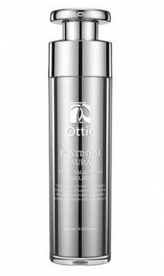Антивозрастная эмульсия Роскошь платины OTTIE Platinum Aura Vital Balancing Emulsion 120 мл: фото