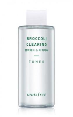 Тонер с экстрактом брокколи INNISFREE Broccoli Clearing Toner: фото