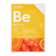 Маска для лица MISSHA Phytochemical Skin Supplement Sheet Mask (Betacarotene/Nourishing): фото