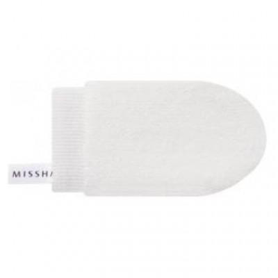 Варежка для очищения Т-зоны лица MISSHA Microfiber Clean-T: фото