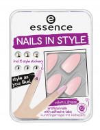 Накладные ногти на клейкой основе ЕSSENCE nails in style с наклейками 03: фото