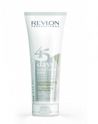 Шампунь-кондиционер для мелированых волос Revlon Professional RCC Shampoo&Conditioner Highlights 275 мл: фото