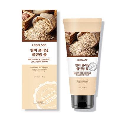 Пенка для умывания с экстрактом коричневого риса LEBELAGE, 180мл: фото