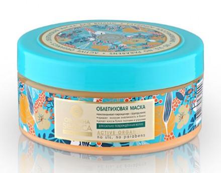 Маска облепиховая для поврежденных волос Natura Siberica 300мл: фото