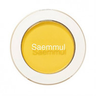 Тени для век матовые THE SAEM Saemmul Single Shadow (Matte) YE03 Lemon Candy Yellow 1,6гр: фото