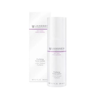 Тоник-лосьон для жирной кожи с акне Janssen Cosmetics Purifying tonic lotion 200мл: фото