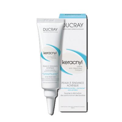 Крем регулирующий Ducray Keracnyl Cream Complete regulating care 30 мл: фото