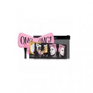 Набор Double Dare OMG! SPA из 4 масок, кисти и нежно-розового банта: фото