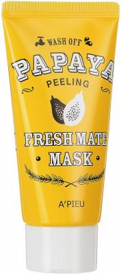 Маска-пилинг для лица с папайей A'PIEU Fresh Mate Papaya Mask Peeling 50мл: фото