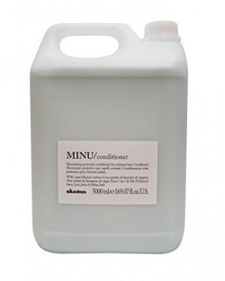 Кондиционер защитный для сохранения косметического цвета волос Davines MINU conditioner 5000мл: фото