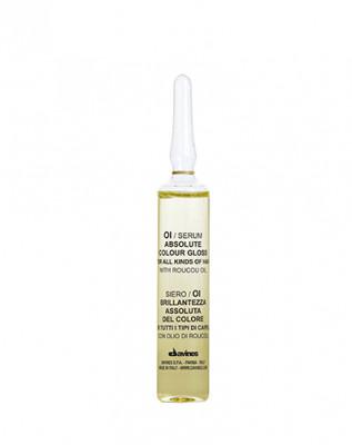 Сыворотка для абсолютного блеска окрашенных волос Davines OI Serum 12*13мл: фото