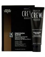 Камуфляж для седых волос American Crew PRECISION BLEND Средний пепельный 5/6, 3*40мл