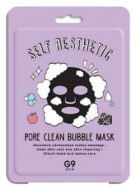 Маска тканевая пузырьковая Berrisom G9 skin Self Aesthetic Poreclean Bubble mask 23мл: фото