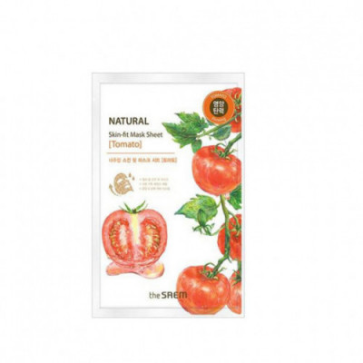 Маска тканевая томат Natural Skin Fit Mask Sheet [Tomato] 20ml: фото
