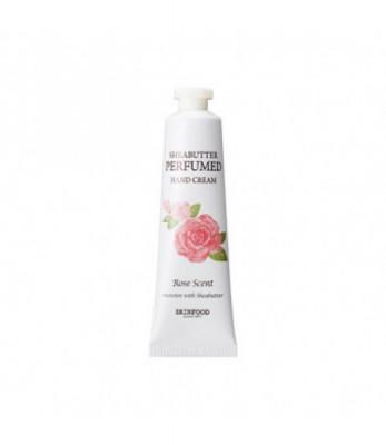 Крем для рук парфюмированный SKINFOOD Shea Butter Perfumed Hand Cream Rose scent 30мл: фото