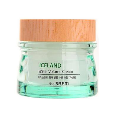 Крем минеральный THE SAEM Iceland Water Volume Hydrating Cream 80мл: фото