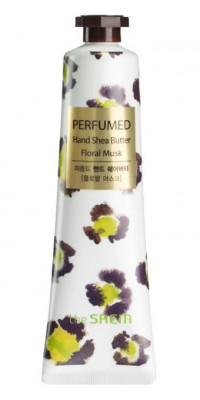 Крем-масло для рук THE SAEM Perfumed Hand Shea Butter floral Musk 30мл: фото
