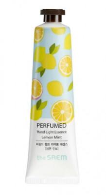 Крем-эссенция для рук парфюмированный Perfumed Hand Light Essence Lemon Mint 30мл: фото