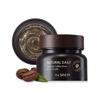 Маска для лица кофейная THE SAEM Natural Daily Original Coffee Mask 100г: фото